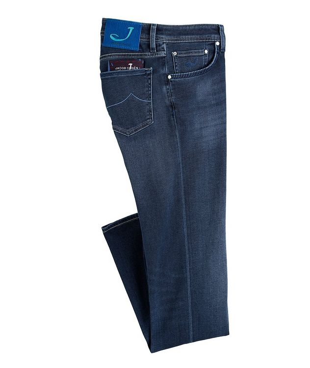 Slim-Fit Stretch Jeans picture 1