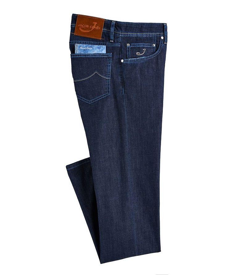 Slim-Fit Stretch-Blend Jeans image 0
