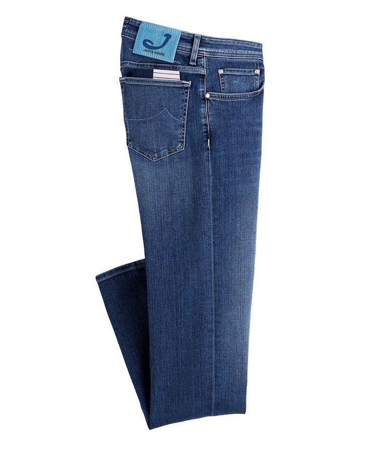 Slim-Fit Stretch Jeans image 0