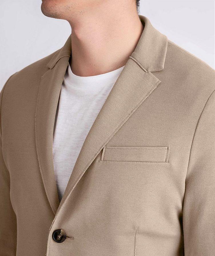 Piqué Cotton Sports Jacket image 3
