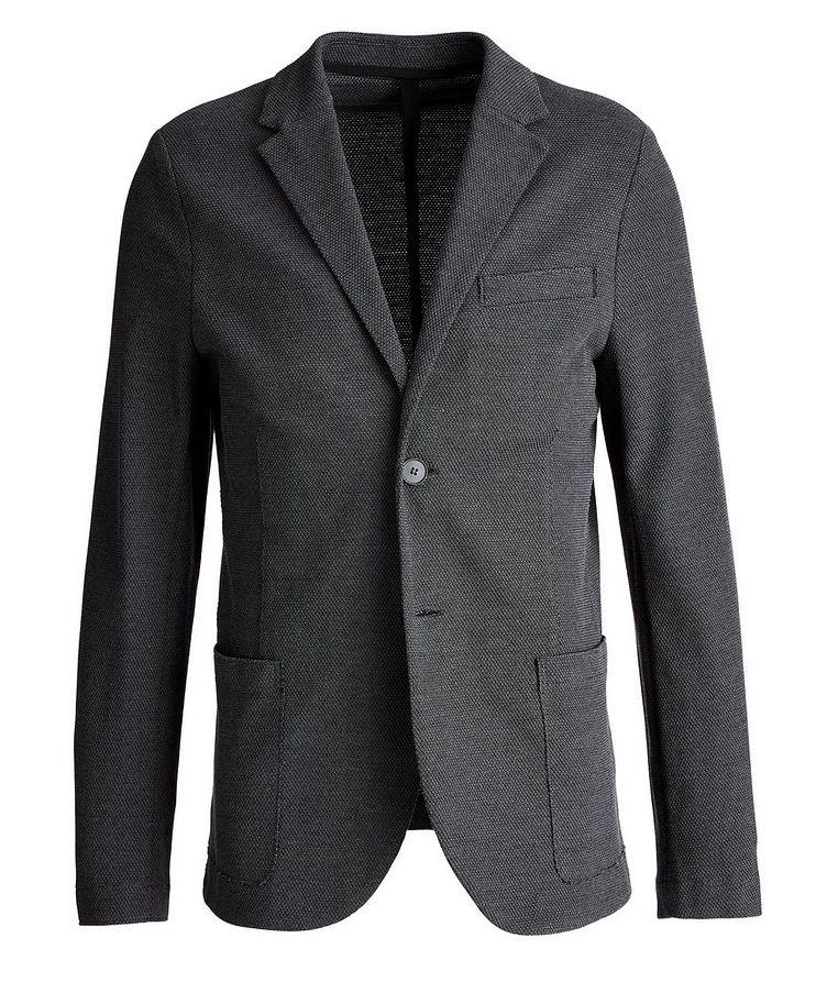 Piqué Cotton Sports Jacket image 0