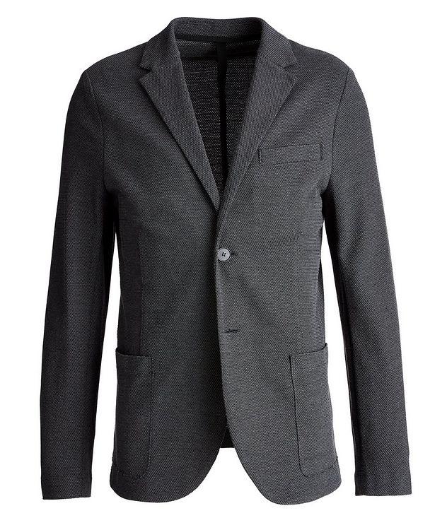 Piqué Cotton Sports Jacket picture 1