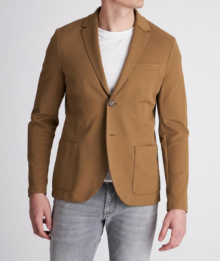 Piqué Cotton Sports Jacket image 1