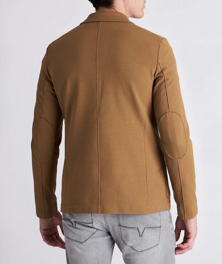 Piqué Cotton Sports Jacket image 2
