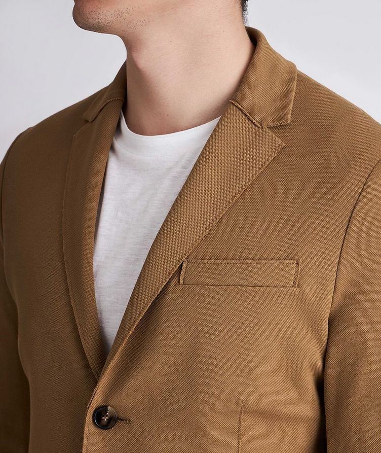 Piqué Cotton Sports Jacket image 3