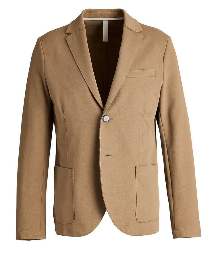 Piqué Cotton Sports Jacket image 0