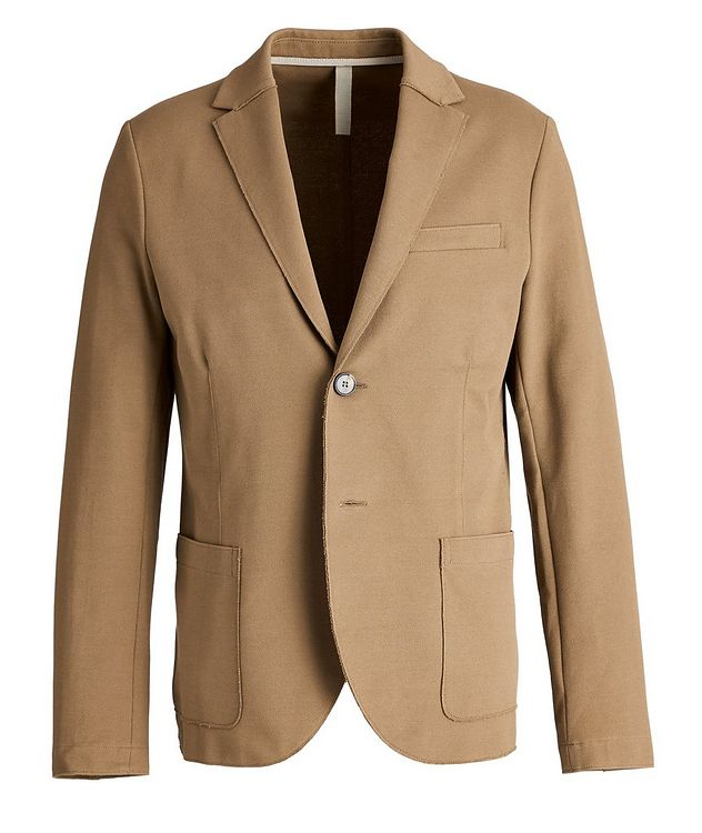 Piqué Cotton Sports Jacket picture 1