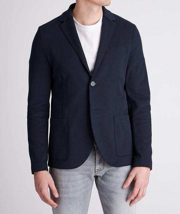 Piqué Cotton Sports Jacket picture 2