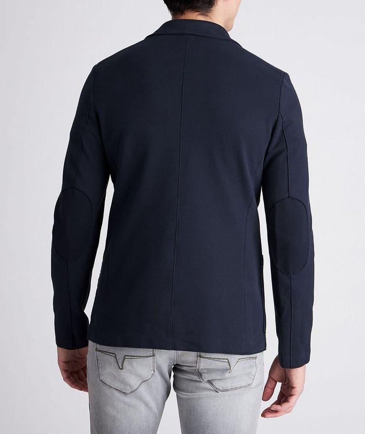 Piqué Cotton Sports Jacket image 2