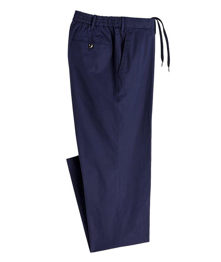 Slim Fit Cotton-Blend Pants image 0