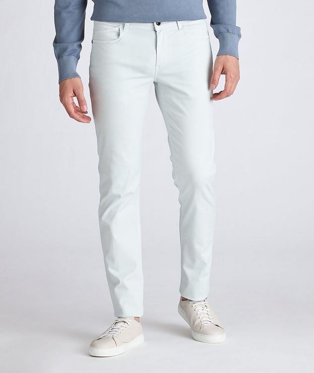 Rubens Stretch Cotton-Lyocell Jeans picture 2