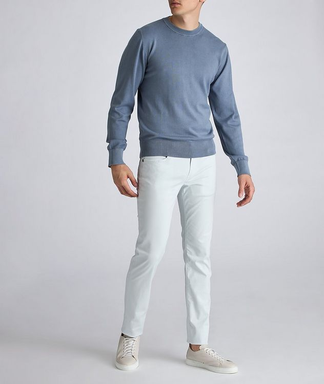 Rubens Stretch Cotton-Lyocell Jeans picture 4