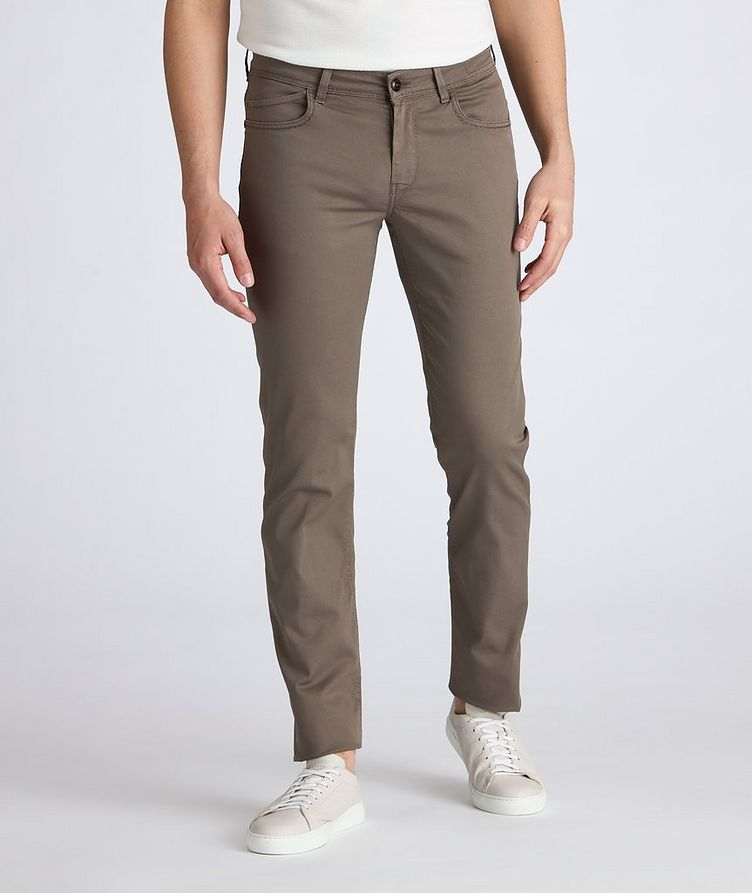 Rubens Stretch Cotton-Lyocell Jeans image 1