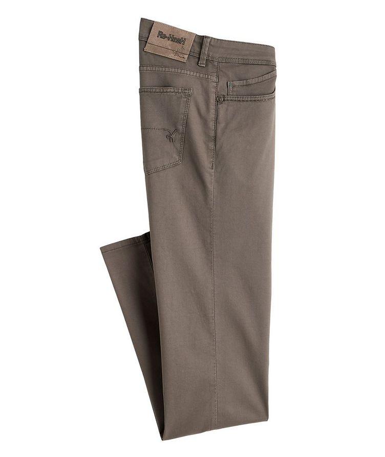 Rubens Stretch Cotton-Lyocell Jeans image 0