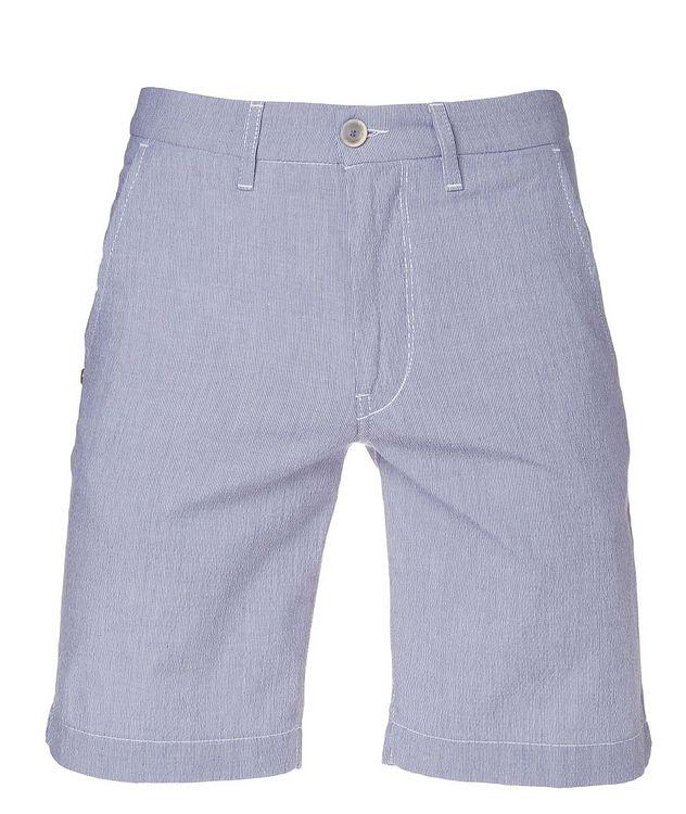 Striped Cotton-Blend Shorts picture 1