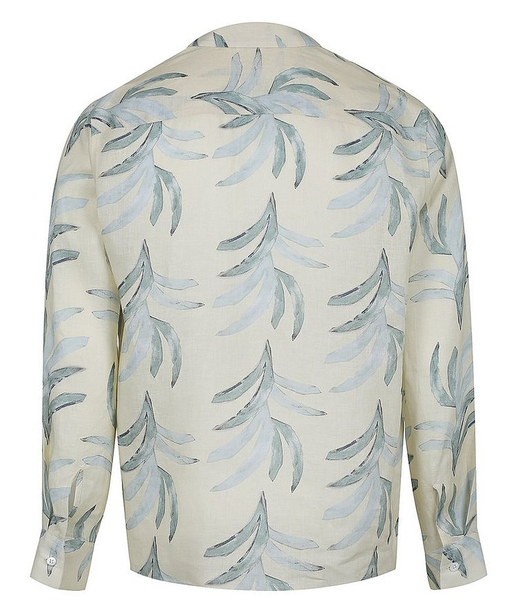 Leaf Printed Cotton Shirt image 1