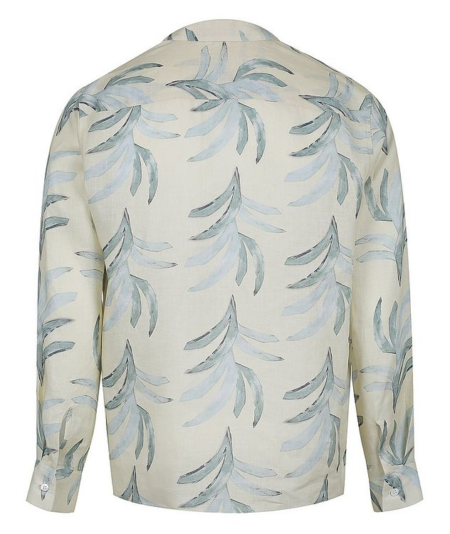 Leaf Printed Cotton Shirt picture 2