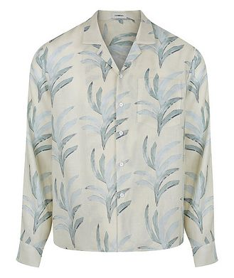 COMMAS Leaf Printed Cotton Shirt