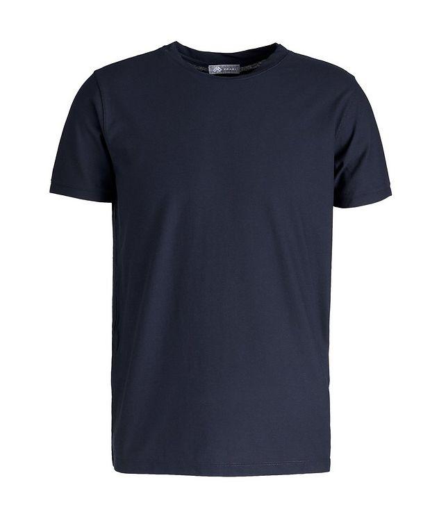 Fine-Knit Cotton T-Shirt picture 1
