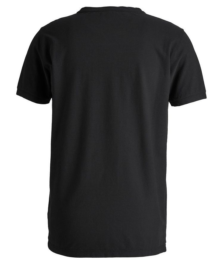 Fine-Knit Cotton T-Shirt image 1