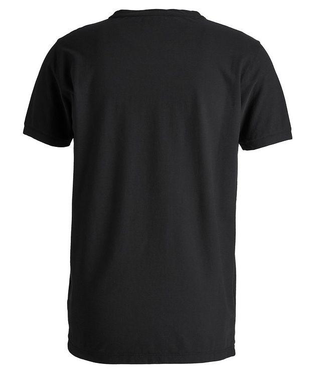 Fine-Knit Cotton T-Shirt picture 2