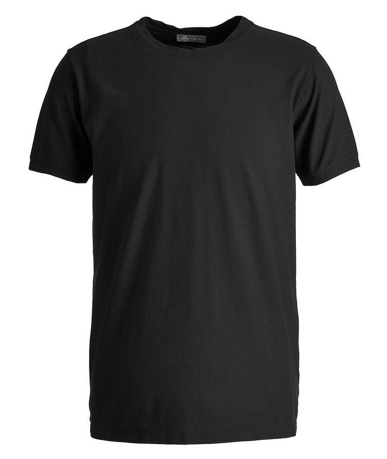Fine-Knit Cotton T-Shirt image 0