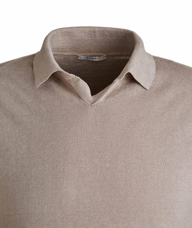 Linen-Cotton Polo image 1