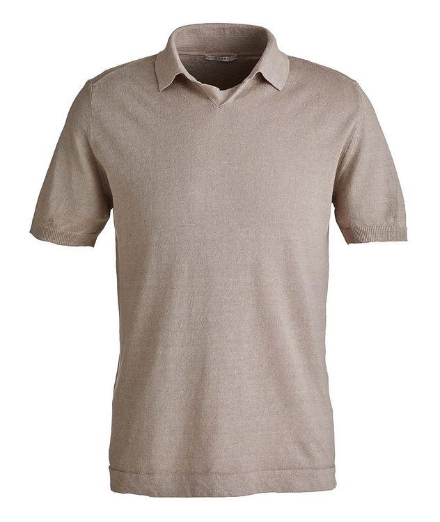 Linen-Cotton Polo picture 1