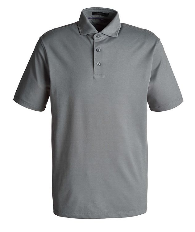 Omaha Piqué Stretch-Cotton-Blend Polo picture 1