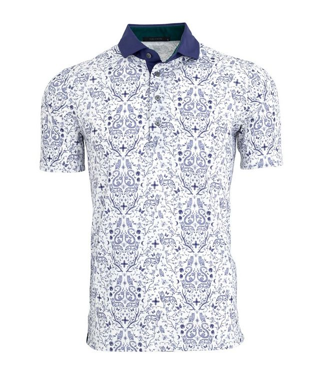 Garden of Curiosities Stretch Polo picture 1