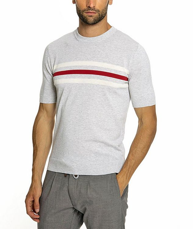 Knitted Cotton T-Shirt picture 2