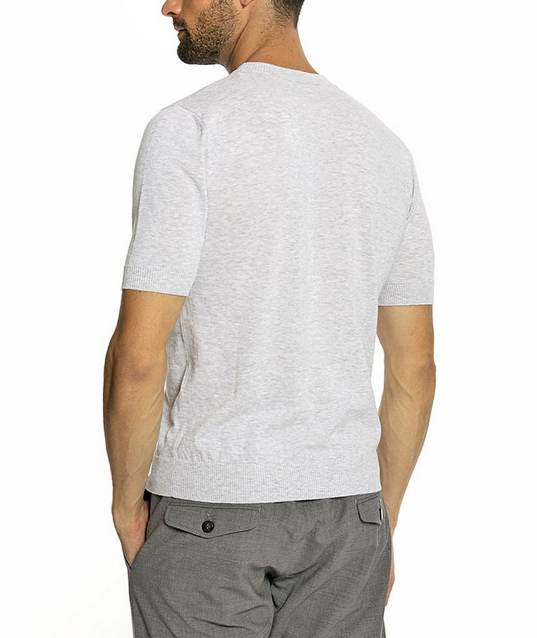 Knitted Cotton T-Shirt image 2