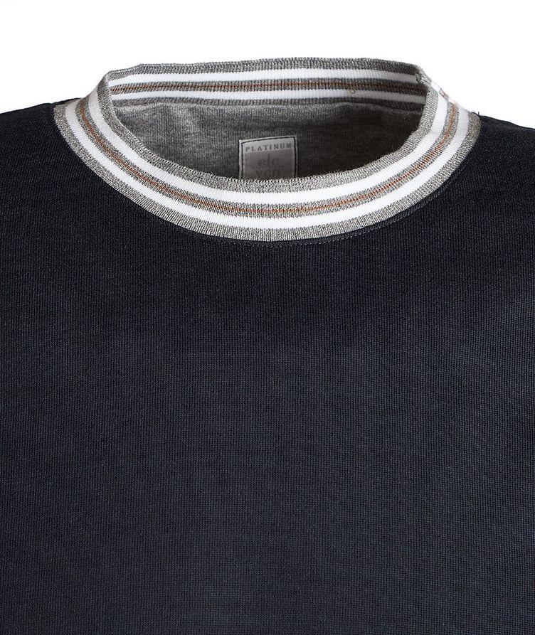 Knit Cotton T-Shirt image 1