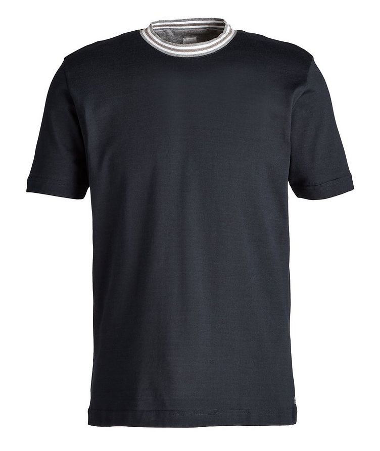 Knit Cotton T-Shirt image 0