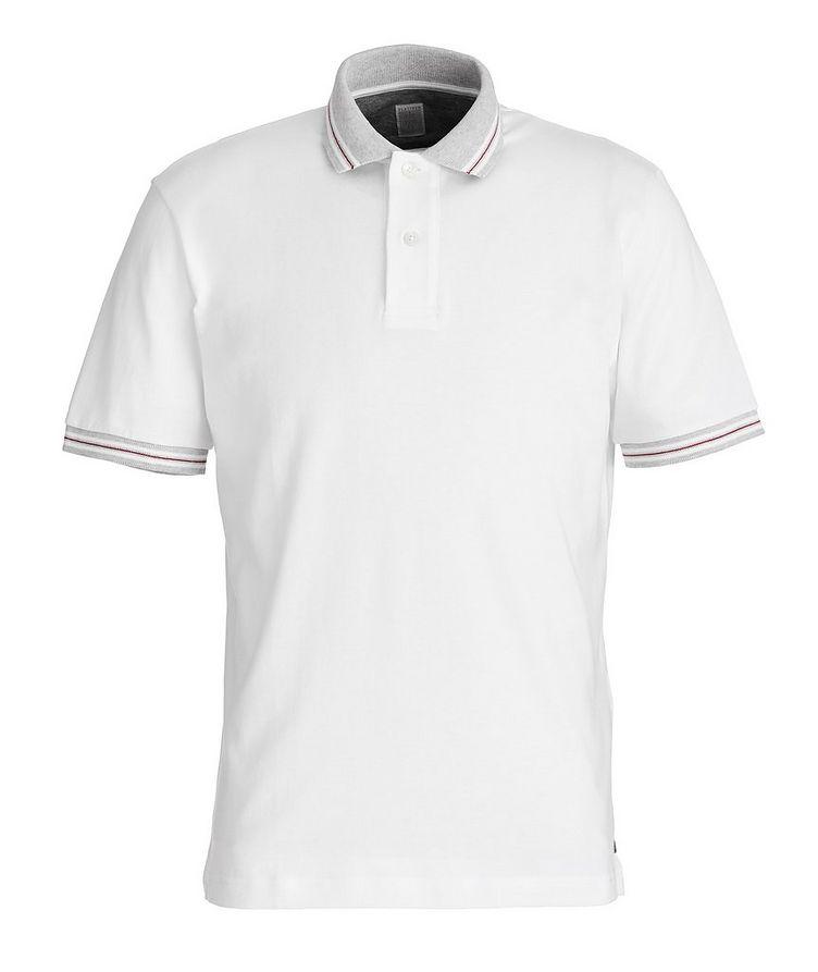T-shirt en tricot de coton image 0