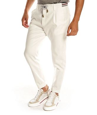 Eleventy Stretch-Cotton Chinos