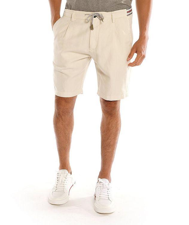 Cotton-Linen Bermuda Shorts picture 1