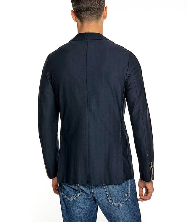 Unstructured Stretch-Tech Fabric Sports Jacket picture 3