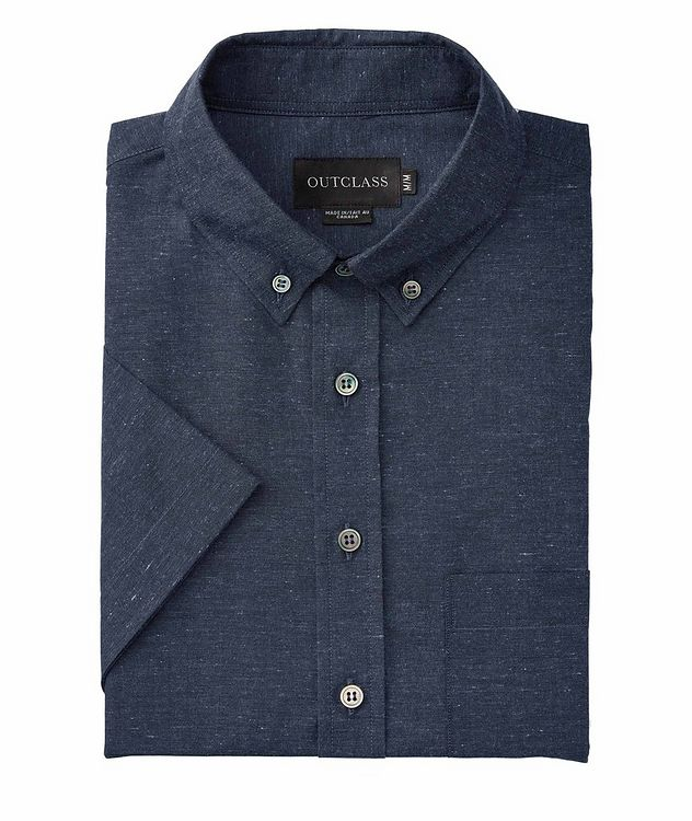 Short-Sleeve Cotton Shirt picture 1