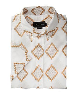 Outclass Short-Sleeve Cotton Shirt