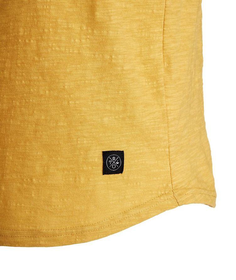 Slub Cotton Henley Shirt image 1