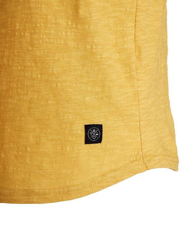 Slub Cotton Henley Shirt picture 2