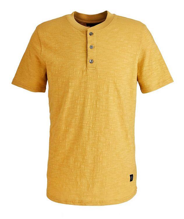 Slub Cotton Henley Shirt picture 1