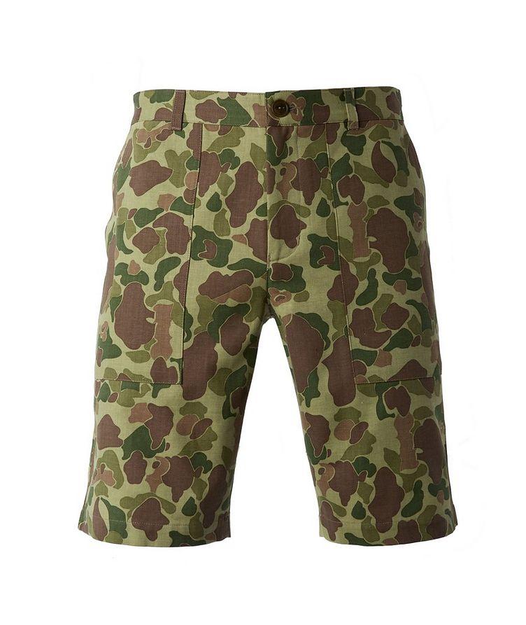 Camouflage Safari Shorts image 0
