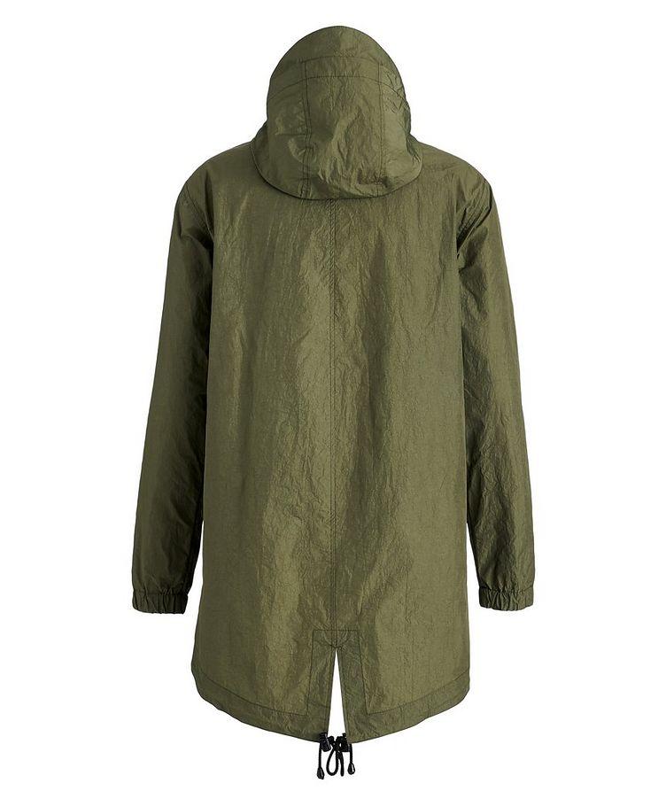 Water-Repellent Nylon Fishtail Jacket image 1
