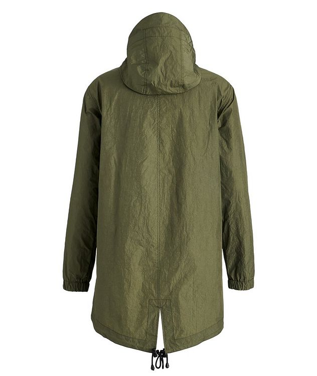 Water-Repellent Nylon Fishtail Jacket picture 2