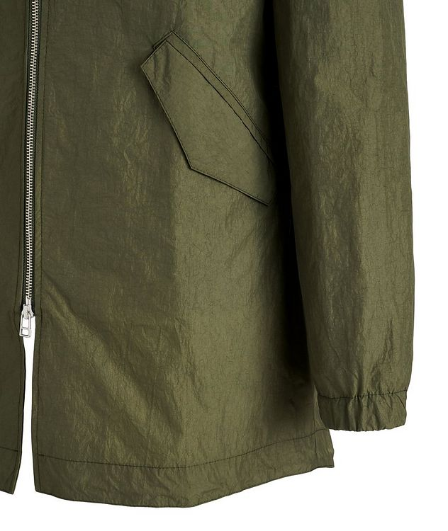 Water-Repellent Nylon Fishtail Jacket picture 4