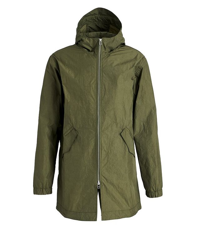 Water-Repellent Nylon Fishtail Jacket picture 1