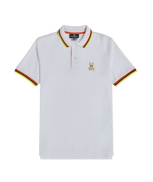 Psycho Bunny Cotton Piqué Polo