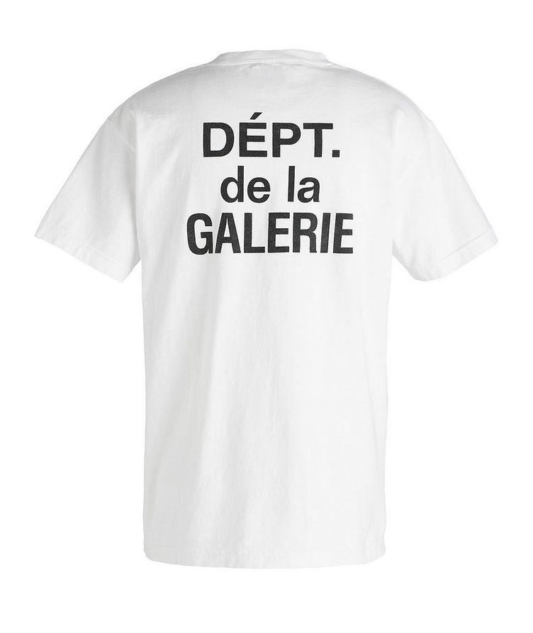 French Souvenir Cotton T-Shirt image 1